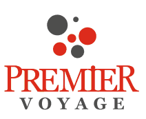 Logo Premier Voyage | Agentie de turism | Live well. Travel better!